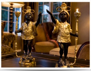 Image of a monkey lamp